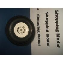 Roda Borracha 2 1/4, 2.25 Ou 57mm Shopping Model (unidade)