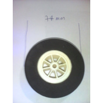 Roda Borracha De Eva Duro Cubo De Nylon De 74mm Da Shopmodel