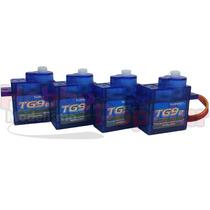 4 Unidades Micro Servo 9g Tg9 Turnigy /1.5kg/0.10sec