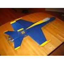 Aeromodelo-planta Do F18 P/ Depron C/manual+ Super Brindes!!