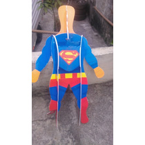 Super Homem Voador 120cm Em Depron 4mm