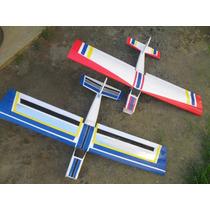 Aeromodelo Treinador Kit Eletrico Feito Em P3 Entelado
