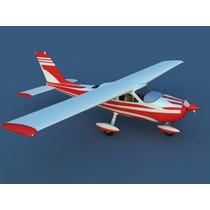 Planta Do Aeromodelo Cessna 177 Giant Em Pdf