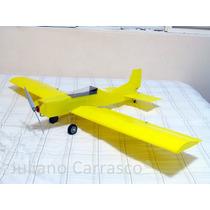 Aeromodelo Asa Baixa Pastinha 1,20m Canopy Transp. + T.pouso