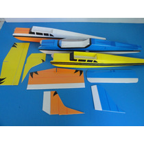 Kit Aeromodelo Eletrico Em Depron E P3