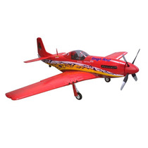 Maxximus Hobby - Aeromodelo P51 Dago Red 1,6m Envergadura