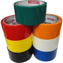 Fita Adesiva Para Entelagem - 48mm X 40mm - Cor:vermelha
