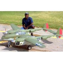 Planta Do Lockheed P-38 Martin Lighting Gigante Giant