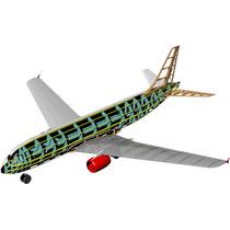 Planta Aeromodelo Airbus A320