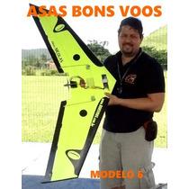 Asa Zagi 120cm P3 - Completa Iniciante - Voadora Treinador