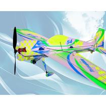 Aeromodelo Yak 54 Avião Deprom Shock Flyer 3d-edição Brasil