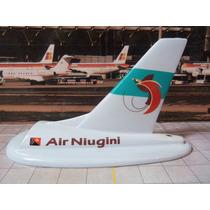 Cauda / Deriva Avião Air Niugini 12cm Miniatura Maquete