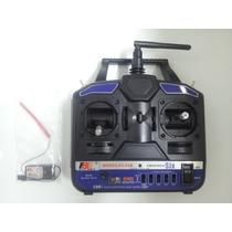 Maxximus Hobby - Radio 6 Canais Modo 2 Flysky 2.4ghz Fs-t6b