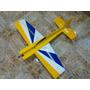Aeromodelo Shock Flyer Extra Em Depron 4mm Entelado Com 88cm