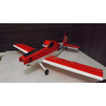 Aeromodelo Rc Aviao Dusty 2 Depron Eletrico 1 Mt Asa