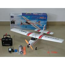 Cessna Tw-747-i Avião Rádio 4 Canais Asa Alta