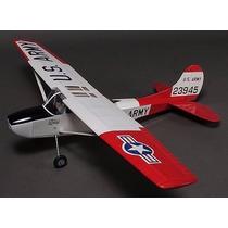Cessna L-19 Bird Dog - Aeromodelo Elétrico Balsa
