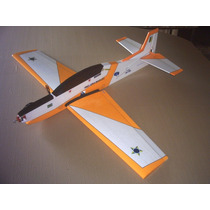 Aeromodelo Tucano T-27 Para Motor Elétrico Futaba Servo Os