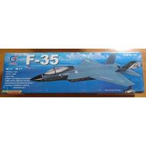 Aeromodelo Jato Eletrico F-35 Bruschlles 70mm Edf Completo