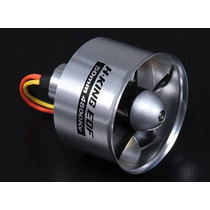 Turbina Em Aluminio 50mm Com Motor 4800kv
