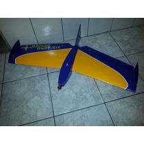 Kit Aermodelo Six Hawk-elétrico De 88 Cm Corte Em Cnc