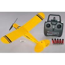 Piper Micro Super Cub Elétrico Flyzone - Rtf - 450mm