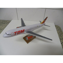 Miniatura Avião Airbus-320-tam.modelo Grande.