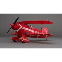 Avião E-flite Umx Pitts S-1s Bnf Basic As3x Technology
