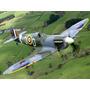 Planta Aeromodelo Spitfire Mk.v Warbird Gigante Em Balsa
