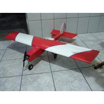 Aeromodelo Six Stick 120 Elétrico 1,2m Cortado Em Cnc