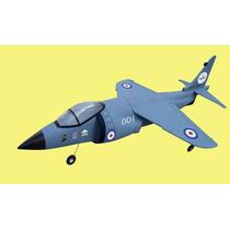 Aeromodelo Jato Harrier Duct Fan 4ch Guanli Arf Leiam