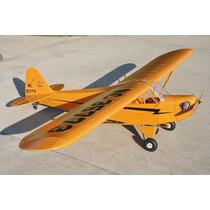 Planta Aeromodelo Piper J3 Cub Balsa Escala 1/6 Corte Laser