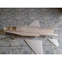 Aeromodelo Jato F16 Para Turbina Edf De 70/90mm