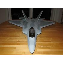Aeromodelo - Planta Jato F-22 Raptor Em Depron Frete Grátis!