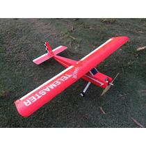 Aeromodelo Treinador Telemaster 1,20m Depron Kit Para Montar