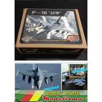 Miniatura Avião Caça F-16 Escala 1:125