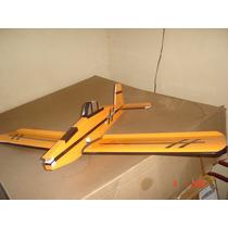 Aeromodelo Ipanema Para Motor Elétrico Futaba Servo Os