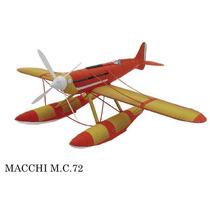 Maquete De Papel 3d - Macchi-mc72 Em 3 Dimensões