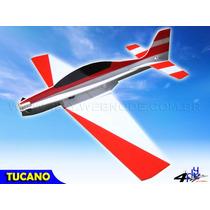 Aeromodelo Tucano T-27 - Kit Para Montar Em Depron / Isopor