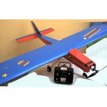 Aeromodelo Nh-stik Lancer 46 Eletrico Treiner Com Motor