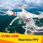Drone Syma X8w Com Câmera Wifi No Smartphone Pronta Entrega