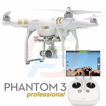 Drone Dji Phanton 3 Profissional Camera 12mp Video 4k Gps