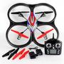 Quadricoptero Wltoys V262 Gigante 4 Canais - Já Com Câmera