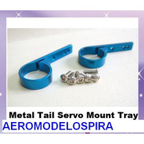 Metal Tail Servo Mount Tray Trex 450 Hk 450 Copter-x 450