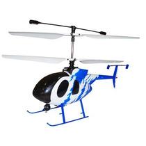 Mini Helicóptero Bravo Iii Rc 4 Canais