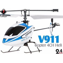 Helicóptero V911 Pro 4 Canais Com Gyro