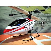 Novo Helicóptero V911 Pro: Novo Design 3d 4 Canais