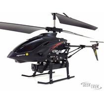 Helicóptero Wl S977 3.5ch Rc Wltoys Giroscópio Câmera Espiã