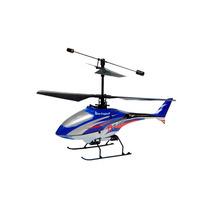 Helicóptero Elétrico Draco 2 Rc 4 Canais Coaxial Azul