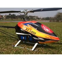 Helicoptero Trex 700 Flybarless Vbar 5.2 Speed Castle 160 Hv